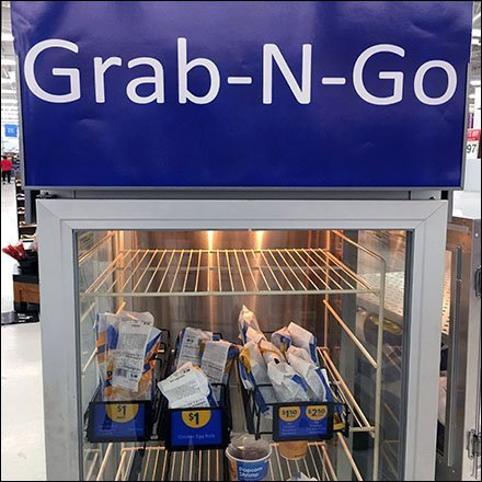 Grab-And-Go Hot Food Proofing Cabinet