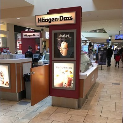 Haagen Dazs Mall Concourse Ice Cream Kiosk