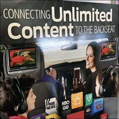 Invision Unlimited Backseat Content Sign Board Feature