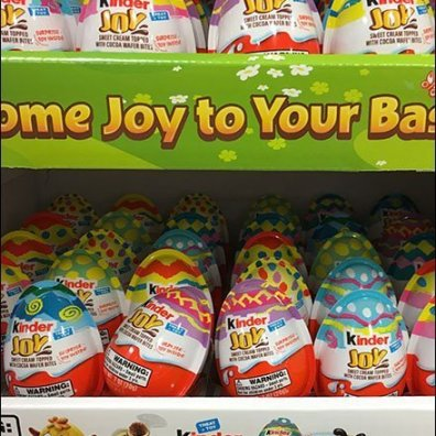 Kinder Joy Easter Edition Dual Display