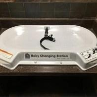 Koala Kare Baby Restroom Changing Station