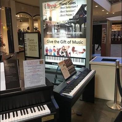 Mall Piano Sales Kiosk