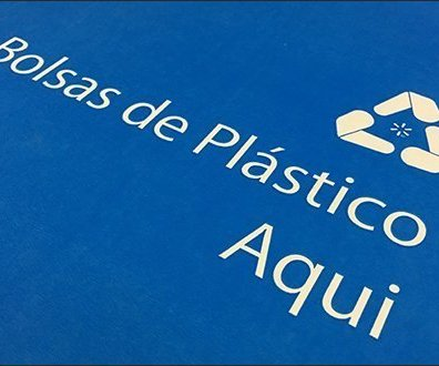 Massive Push On Recycling Plastic Shopping Bags