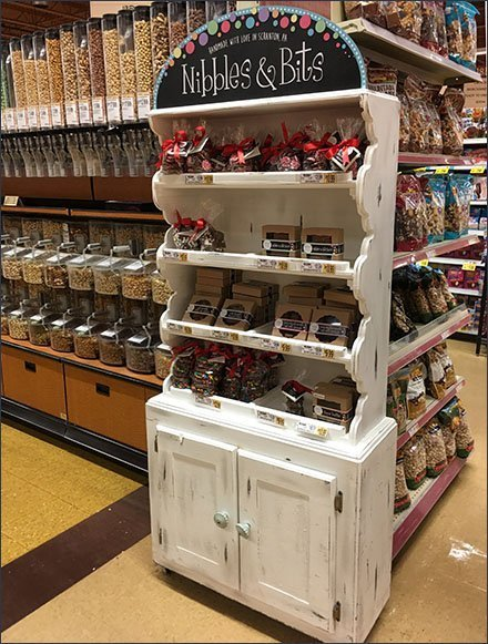 Nibbles & Bits Handmade Candy Cupboard