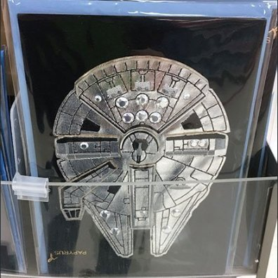Star Wars Rhinestone Greeting Card Collection