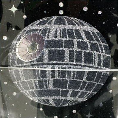 Papyrus Rhinestone Star Wars Greeting Card Collection Square