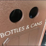 Slot Shapes Define Recycling And Waste Bins