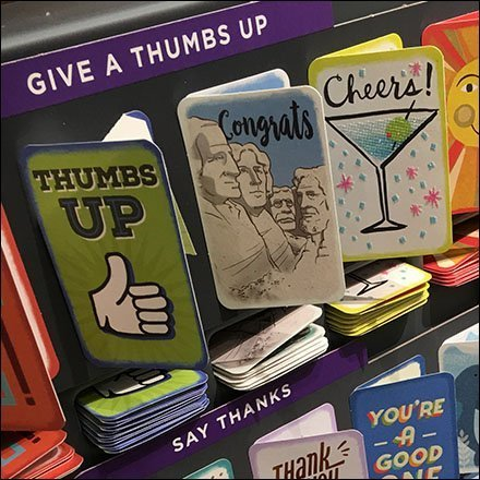 Personally Delivered Card Merchandising