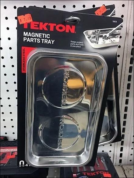 Tekton Magnetic Tray Merchandising Loop Hook