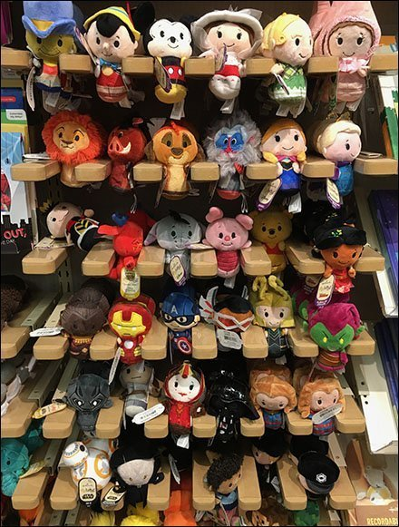 Disney Itty Bittys Wood Faceout Outfitting