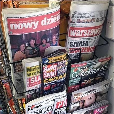 Solomia Ethnic Polish Grocery - Ethnic Grocery Polish Newspaper Rack