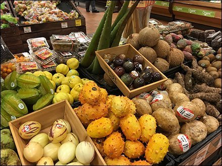 Exploring Exotic Unknown Fruit in Produce