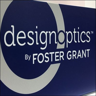 Foster Grant Reading Glasses DesignOptics Display Feature