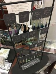 Holly Yashi Jewelry As Art Earring Display
