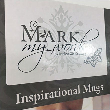 Inspirational Mug Gravity Feed Mobile Display