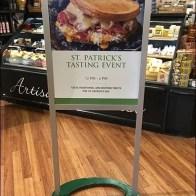Irish Taste Test Event for St Patricks Day