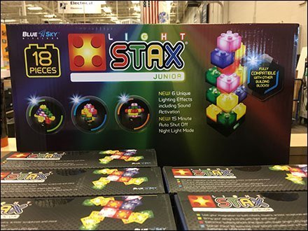 Light Stax Lego Building Blocks Display