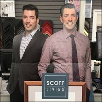Life-size Twins Standup Sells Frame Collection