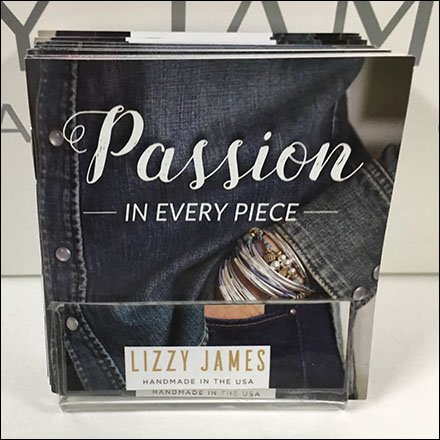Lizzy James Business Card Holder Brochures