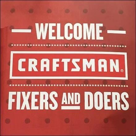 Craftsman Merchandising and Display