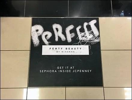 Rihanna Perfect Beauty Get It Floor Graphic