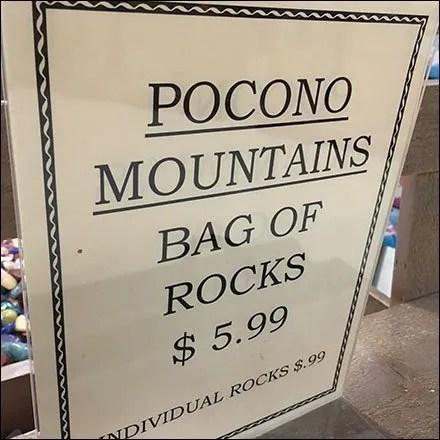 Retailing Rocks By Bag or Individually