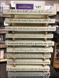 Sentimental Wood Sign Stack Tower 2