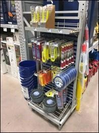 String Trimmer Specialties Display Rack