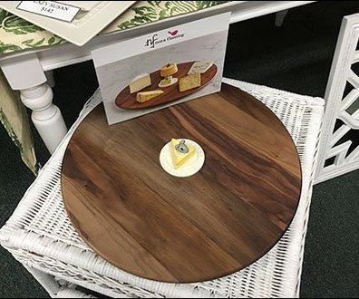 Wood Lazy Susan Presentation Possibility