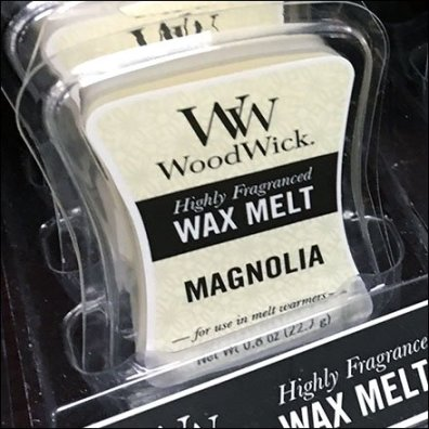 WoodWick Small Wax Melt Merchandising