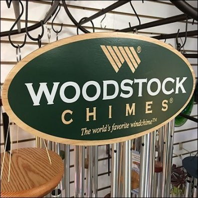 Woodstock Wind Chimes Metal Trellis