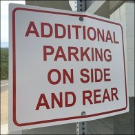 Additional Parking On The Side and In The Rear