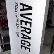 Average Figure Underwear Merchandising Mainstay