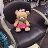 Claire Bear Ear Piercing Placeholder Feature