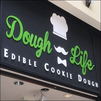 Dough Life Edible Cookie Dough Logo