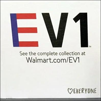 EV1 Alphanumeric Apparel Branding