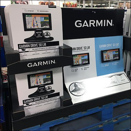 Garmin GPS Table-Top Display on Pallets