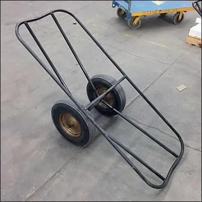 Handle-Less Warehouse Handcart Concept