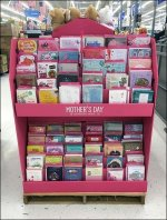 Happy Mother's Day Island Display