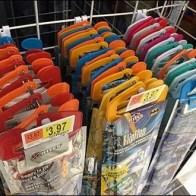 Kite Hangers For Plastic Backplate Gridwall Hooks