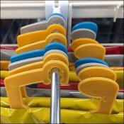 Kite Hangers For Plastic Backplate Gridwall Hooks