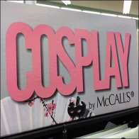 Cosplay Sewing Pattern McCall's Floorstand Display