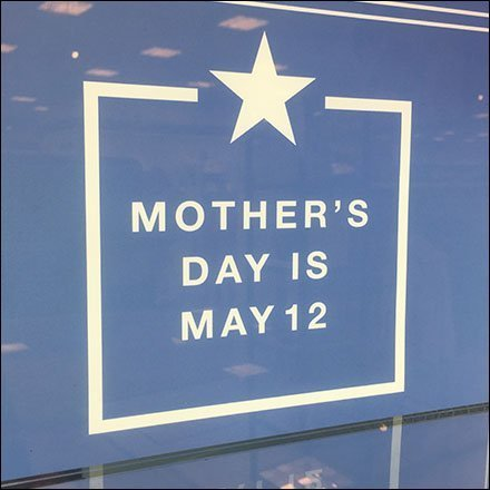 Mother's Day Museum Case Backlighting