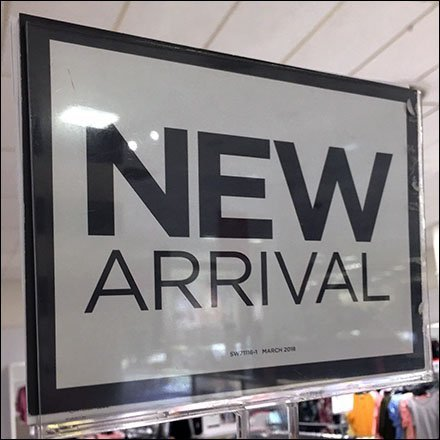 New Arrival Hangrail Sign in Apparel Feature