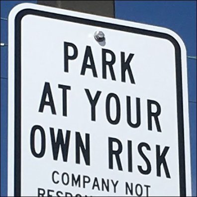Park at Your Own Risk Feature