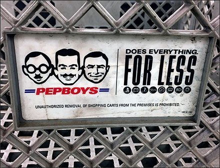 Pepboys Automotive Shopping Cart Concept Aux