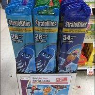 Small-Scale Strato Kite Floor Stand Display.