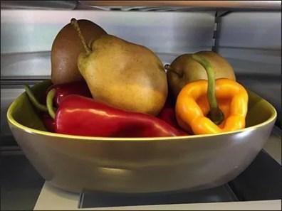 Sub-Zero Showroom Cooler Tasty Food Props
