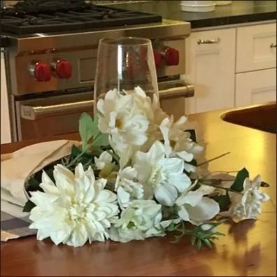 Sub-Zero Showroom Floral Bouquet Props Feature