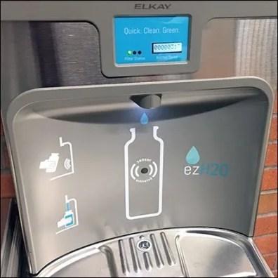 Elkay EZH2O Bottle-Filling Water Fountain